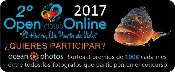 Ocean Photos te ayuda a participar en el Open Fotosub Online