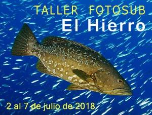 Taller Fotosub El Hierro 2018