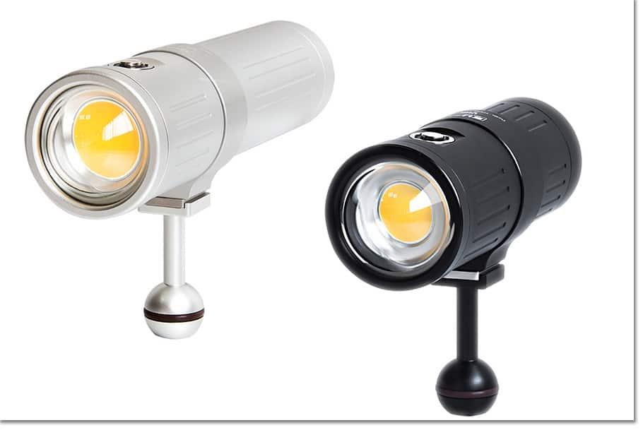 Focos Scubalamp V4K y V6K