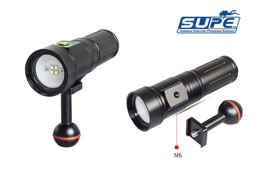 Foco compacto Scubalamp PV22