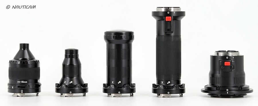 Sistema de lentes Nauticam EMWL